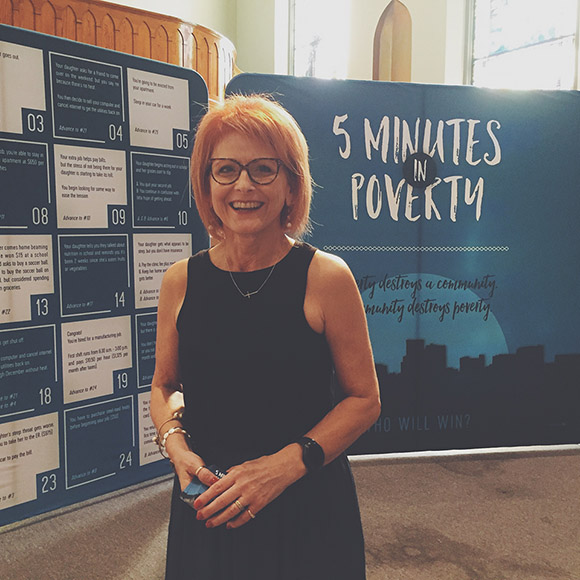 5 Minutes In Poverty Walk-Thru Display